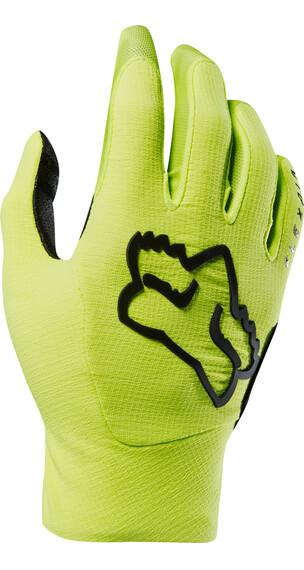 Fox Flexair Bike Gloves Men yellow/black